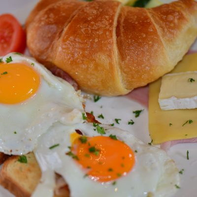Aurillac-Frühstück